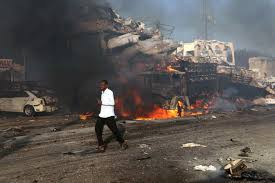100 Truck Explosion Mogadishu Explosion Devastating Truck Bomb Kills At Least 20 In