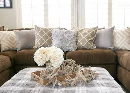 Dark Brown Couch Living Room Ideas by Best 25 Couch Ottoman Ideas On Pinterest Comfy Couches Cozy