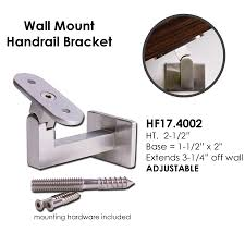 Buy Stair & Railing Installation Hardware & Accessories | Ironwood ... Stair Handrail Brackets Installation Andreas King Bed Typeh Heavy Cast Wall Round Wooden Handrail With Satin Chrome Brackets And No Base Plate Basic Rail Bracket Ideas Latest Door Design Mounted Or Banister Forged By A Linnea Hrb 11 Designs On Handrails For Stairs Chrome Brass Brushed Nickel At Wood Duty Base The Home Depot Classic Stairsupplies