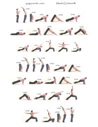 Print Free Yoga Sequence