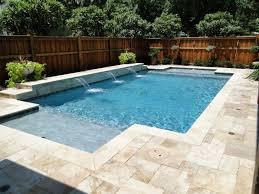 terrific non slip pool deck materials with travertine around