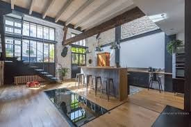 100 Modern Residential Interior Design Former Stable Near Paris Converted Into A Loft