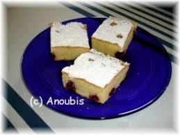kuchen gebäck blechkuchen mit sauerkirschen