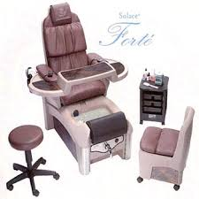 European Touch Pedicure Chair Solace by Professional Nail Art Design Nails 2000 International