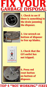 fix a humming garbage disposal fast and easy diy