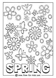 Colouring Page Of Spring Images