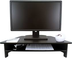 Monitor Shelf For Desk by Victor Dc050 High Rise Monitor Stand Victor Technology Llc