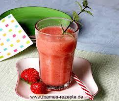 erdbeer apfel smoothie