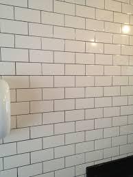 Grey Tiles White Grout by Fresh White Subway Tiles White Grout 5326