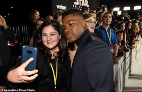 The Burning Bed Cast by Make A Wish Sends 7 Teens To Star Wars Premiere Daily Mail Online