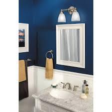 Moen 90 Degree Faucet Brushed Nickel by Moen T6620 Brantford Trim Kit For 2 Handle Bathroom Faucet