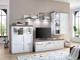 Anbauwand Wohnzimmer Mã Bel Ideal Möbel Wohnwand Bana 4 Teilig Kombination