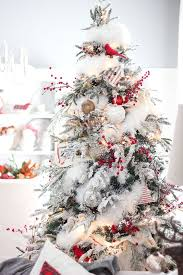 Flocking Powder For Christmas Trees by Christmas Tree Decoration Ideas Snow Inspiration All Things