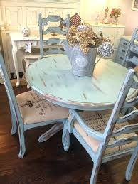 shabby chic dining table chairs zagons co