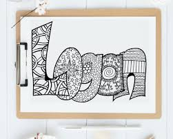Name Coloring Pages To Print Color Your Logan Printable In Jpg