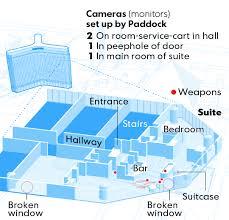 Mandalay Bay Vista Suite Floor Plan by How Police Zeroed In On The Las Vegas Gunman Whas11 Com