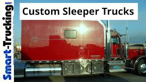 100 Big Truck Sleepers Custom Bunk Super Sleeper S Collection YouTube
