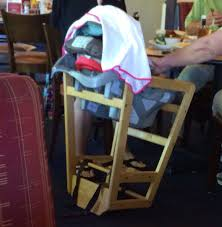 Turn A Restaurant High Chair Upside Down And Place Car Seat.   Food ... Costway Baby High Chair Wooden Stool Infant Feeding Children Toddler Restaurant Natural Chairs For Toddlers Protective Highchair Target Smitten Swing It Cover Juzibuyi Ding Barstools Bar Kitchen Coffee Two Highchairs Kids Stock Photo Edit Now 1102708 Style With Tray Home Ever Take Your Car Seat In A Restaurant And They Dont Have In Cafe Image Kammys Korner Makeover Chevron China Pub Metal With Wood Seat Redwood Safe For Cheap Find