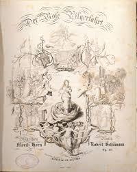 Titelblatt Der Erstausgabe Von Rose Pilgerfahrt
