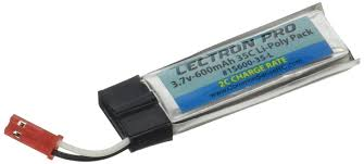 Amazon 2 Pack of Lectron Pro 3 7 volt 600mAh 35C Lipos for