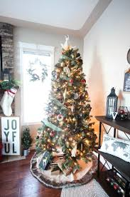 A Beautiful Rustic And Industrial Style Christmas Home Tour