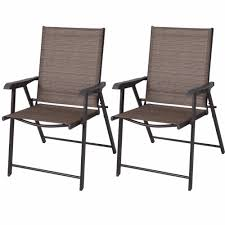 Set Of 2 Outdoor Patio Folding Chairs Furniture Camping Deck ...