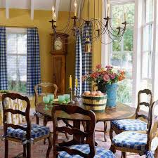 Cream Antique White Cabinets Blue Island W Butcher Block Top Yellow Walls Stain The Table Chairs Or Paint Leave