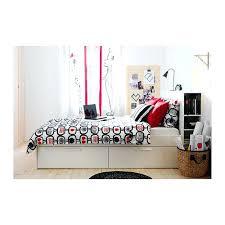 Brimnes Bed Frame With Storage Headboard White Pe