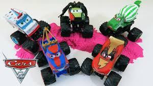 100 Mater Monster Truck Cars 2 Playset YouTube