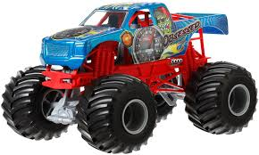 Amazon.com: Hot Wheels Monster Jam Obsessed Die-Cast Vehicle, 1:24 ...