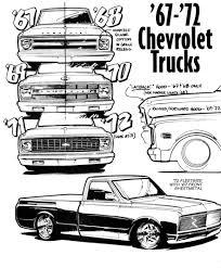 Chevrolet Trucks (1967-1972) | SMCars.Net - Car Blueprints Forum 671972 C10 Pick Up Camper Brakes Best Pickup Truck Curbside Classic 1967 Chevrolet C20 Pickup The Truth About Cars 1971 Not 78691970 Or 1972 4wd Shortbed 71 Tci Eeering 631987 Chevy Truck Suspension Torque Arm 72 79k Survir 402 Big Block Love The Just Wouldnt Want It Slammed Cheyenne Step Side Maple Hill Restoration Customer Gallery To I Have Parts For Chevy Trucks Marios Elite 1968 1969 1970 Gmc Led Backup Light