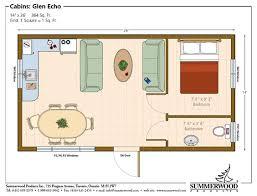 14 x 40 floor plans with loft floor plan cottage architecture