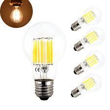 bonlux 10w a19 edison style vintage led filament bulb medium