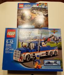 100 Lego City Tow Truck LEGO 60056 60145 CITY And Stunt FREE