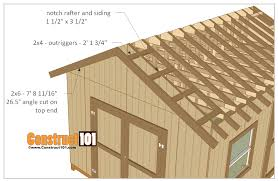 12x16 Shed Plans Material List by 12x16 Shed Plans Gable Design Storage Barn And Woodwork