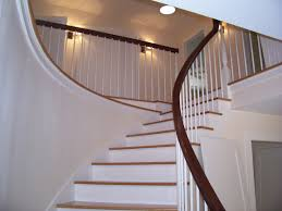 Stairs: Glamorous Banister Railings Staircase Railing Kits, Stair ... Contemporary Railings Stainless Steel Cable Hudson Candlelight Homes Staircase The Views In South Best 25 Modern Stair Railing Ideas On Pinterest Stair Metal Sculpture Railings Railing Art With Custom Banister Elegant Black Gloss Acrylic Step Foot Nautical Inspired Home Decor Creatice Staircase Designs For Terrace Cases Glass Balustrade Stairs Chicago Design Interior Railingscomfortable