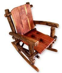 Log Furniture Rocking Chair | Outdoor Furniture