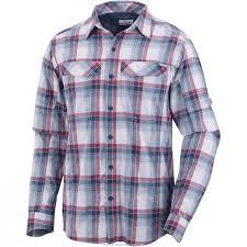 aud 33 6 columbia men u0027s silver ridge plaid long sleeve shirt