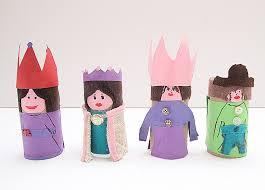 Toilet Paper Tube Dolls For Purim