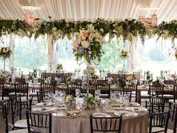 English Countryside Wedding Reception Head Table