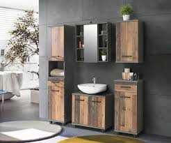 waschbecken unterschrank 2 trg veris forte beton dunkelgrau wood vintage