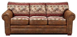 Lovely Rustic Sofa With American Furniture Classics Deer Valley Sleeper
