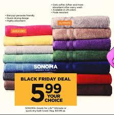 Kohls Bath Towel Sets by Kohl U0027s Black Friday Sonoma Goods For Life Ultimate Or Quick Dry