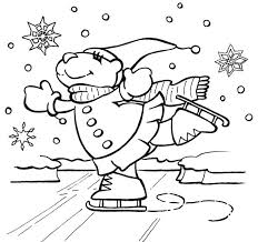 Free Printable Disney Winter Coloring Pages For Kindergarten Kids Download Print