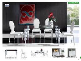 Furniture White Chair With Sqaure Glass Table Saloom For Dining Room Decor Nice And The Best