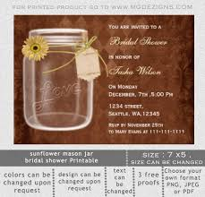 Mason Jar Invitations Templates Blank