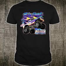 100 Bigfoot Monster Truck History Flame BIGFOOT The Original Shirt Ca 2000 Shirt
