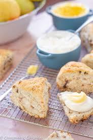 vegane scones mit clotted einfach selber machen
