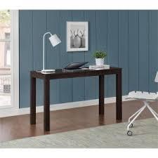 altra furniture parsons desk with drawer in black oak 9178396