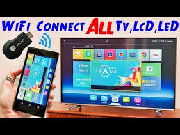 AnyCast How To Connect Smartphone To TV LED TV HDTV